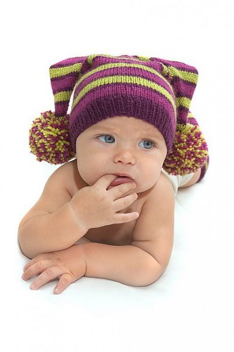 Как вязать детей шапку. Схемы
