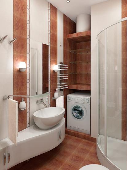 К статье Дизайн интерьера маленькой ванной комнаты.  Публикации по