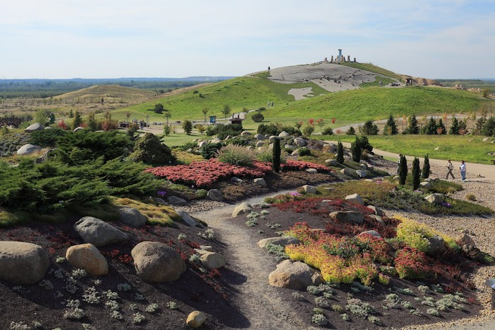 Сад камней Нохтен - Lausitzer Findlingspark Nochten 41671