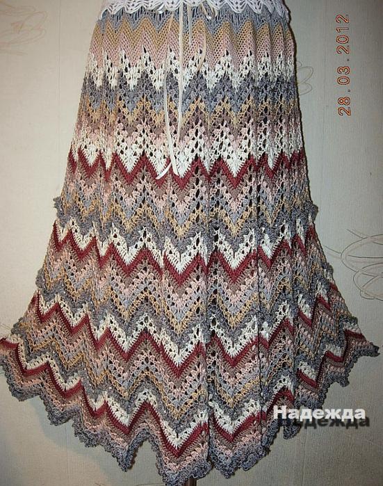 """""""锯齿""""式丝线裙 - maomao - 我随心动"""