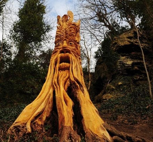 скульптуры и деревья (523x487, 138Kb)
