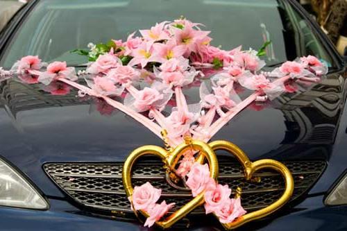 Украшения своими руками для украшения свадебной машины