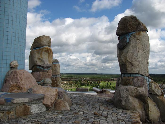 Сад камней Нохтен - Lausitzer Findlingspark Nochten 88901