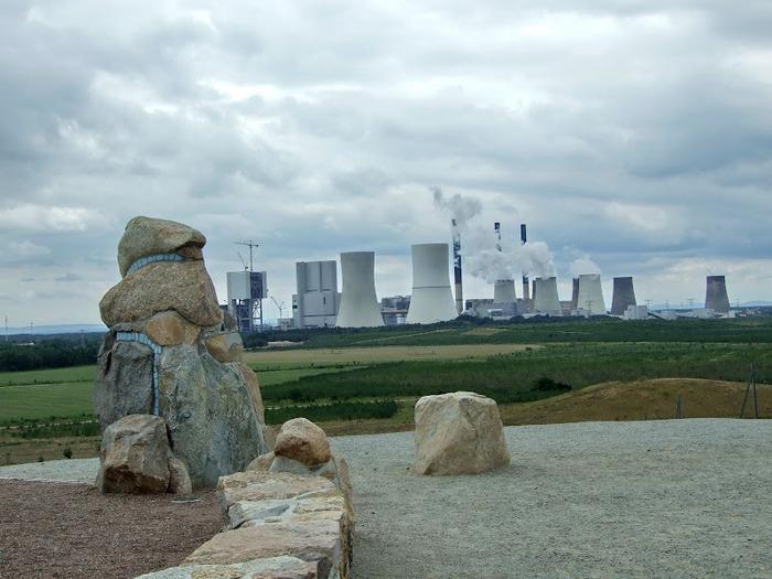 Сад камней Нохтен - Lausitzer Findlingspark Nochten 70544