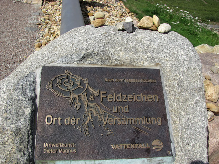 Сад камней Нохтен - Lausitzer Findlingspark Nochten 88288