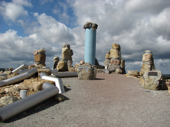 Сад камней Нохтен - Lausitzer Findlingspark Nochten 82416