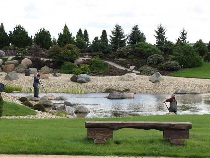 Сад камней Нохтен - Lausitzer Findlingspark Nochten 12942
