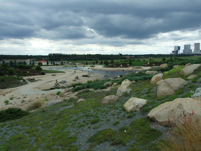 Сад камней Нохтен - Lausitzer Findlingspark Nochten 41084