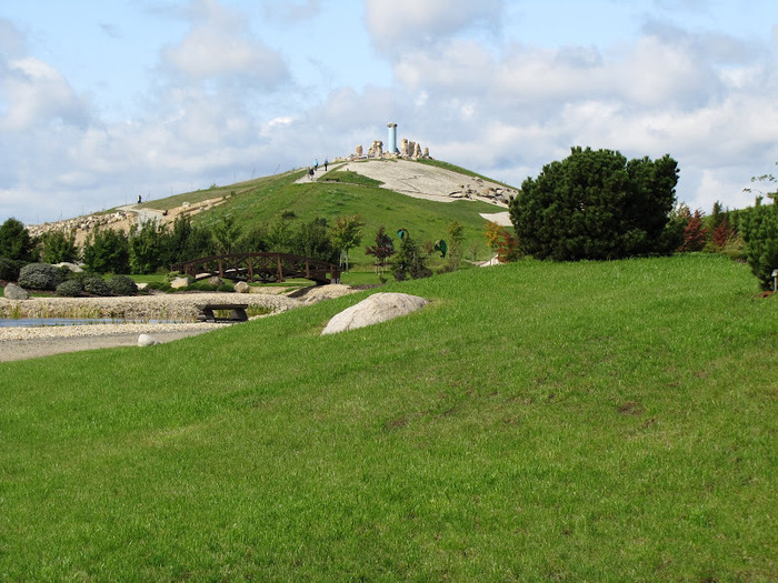 Сад камней Нохтен - Lausitzer Findlingspark Nochten 25323