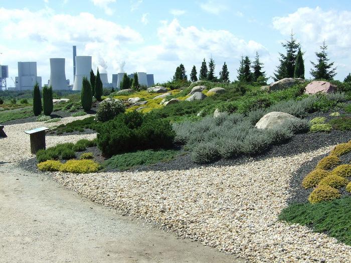 Сад камней Нохтен - Lausitzer Findlingspark Nochten 72833