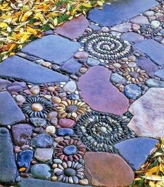 Дорожка из камней (320x365, 49Kb)