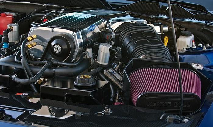 Shelby 1000 новая реинкарнация легендарной модели Ford Shelby gt500 Super Snake 6 (700x419, 105Kb)
