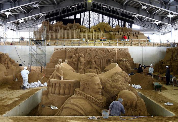 музей песка в японии (700x481, 160Kb)