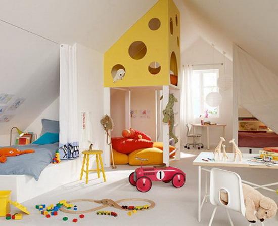 Обустраиваем детскую комнату: как и зачем делить детскую комнату на зоны?