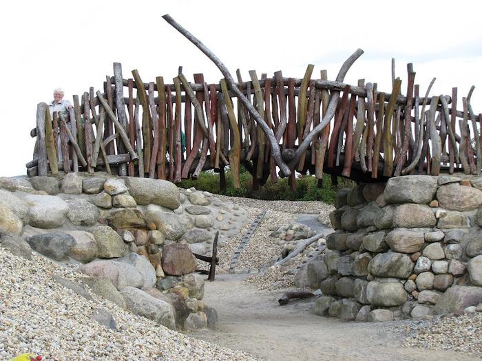 Сад камней Нохтен - Lausitzer Findlingspark Nochten 75437