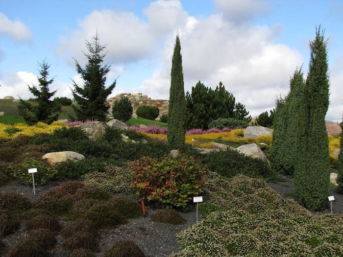 Сад камней Нохтен - Lausitzer Findlingspark Nochten 52343