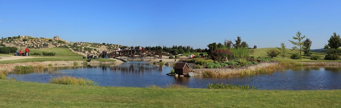 Сад камней Нохтен - Lausitzer Findlingspark Nochten 75301