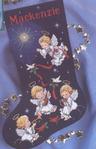Скачать журнал Журнал Вышивка крестом.  Коллекция схем.  Рождественские носки Название: Вышивка крестом.