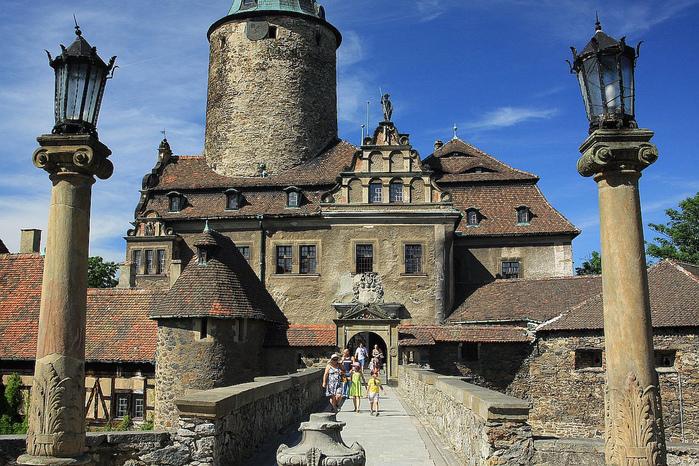 Замок Чоха (Czocha). Польша, Силезия 76766