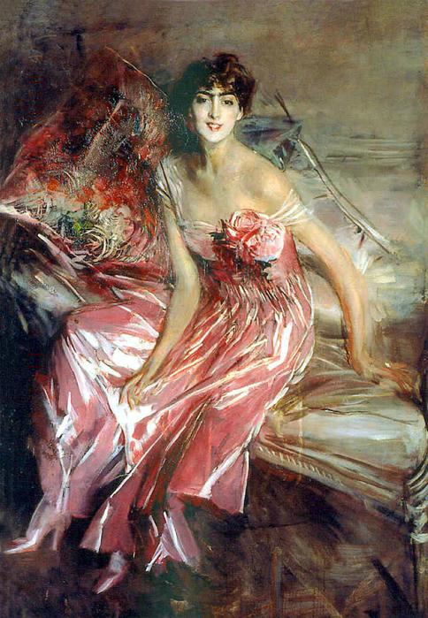 Lady In Rose (831х1200) - Boldini Giovanni (484x700, 537Kb)