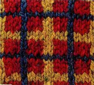 Вязание шотландский узор 43