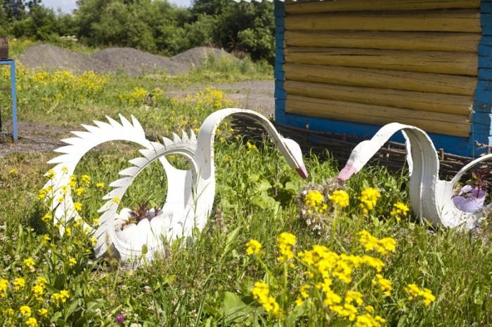 Поделки лебедей своими руками из бумаги
