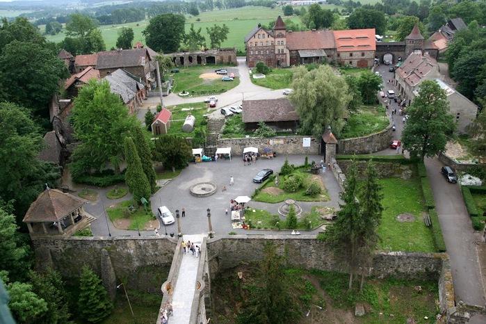 Замок Чоха (Czocha). Польша, Силезия 90291