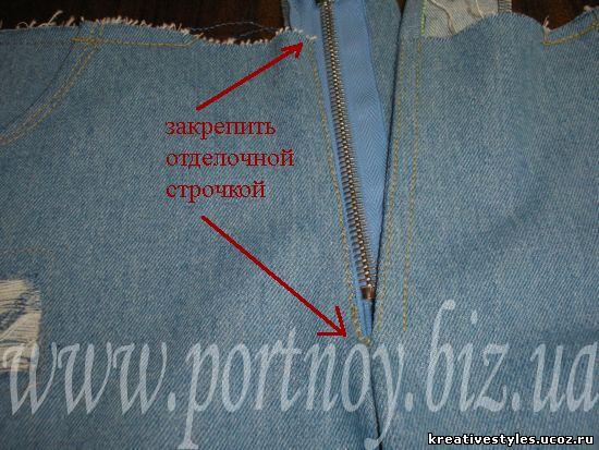 Как вшить замок в куртку пошагово
