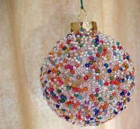 Как сделать новогодние шары своими руками из