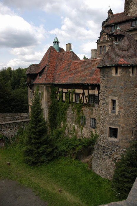 Замок Чоха (Czocha). Польша, Силезия 96906