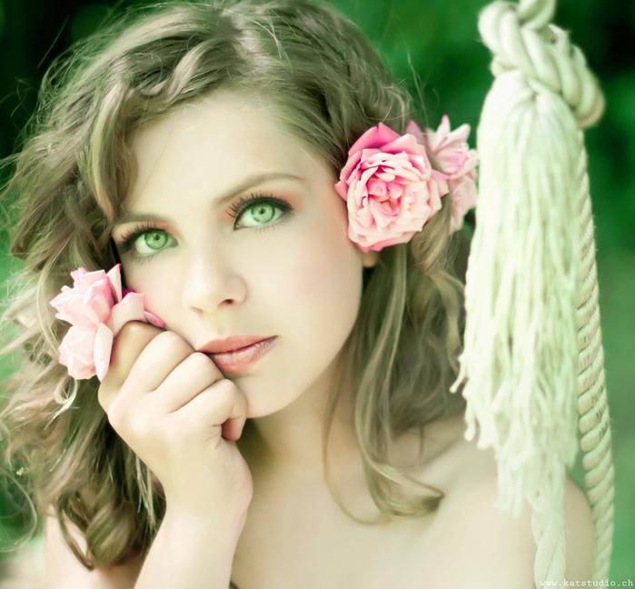 Красивые девушки для аватор самое