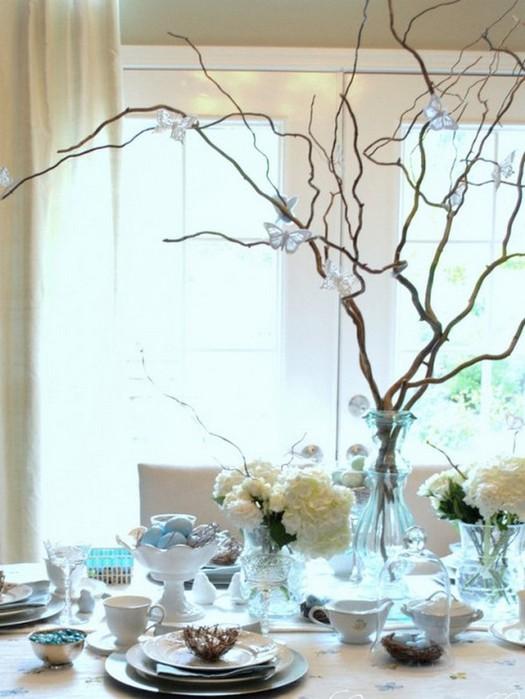 Красивые пасхальные композиции для украшения интерьера к празднику 100 (525x700, 82Kb)