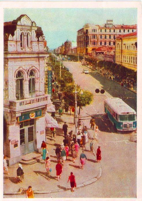 ленинградская улица 60е года (492x700, 76Kb)