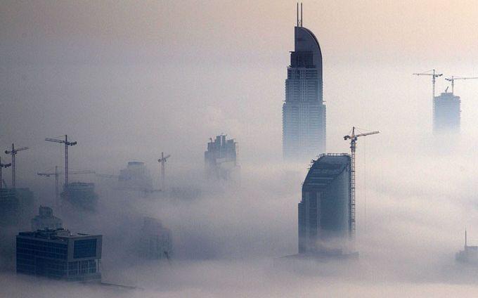 туман над дубаем