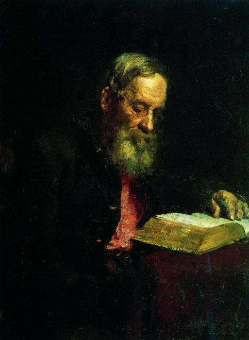 Портрет отца художника Е.В.Репина. 1879 (513x700, 66Kb)