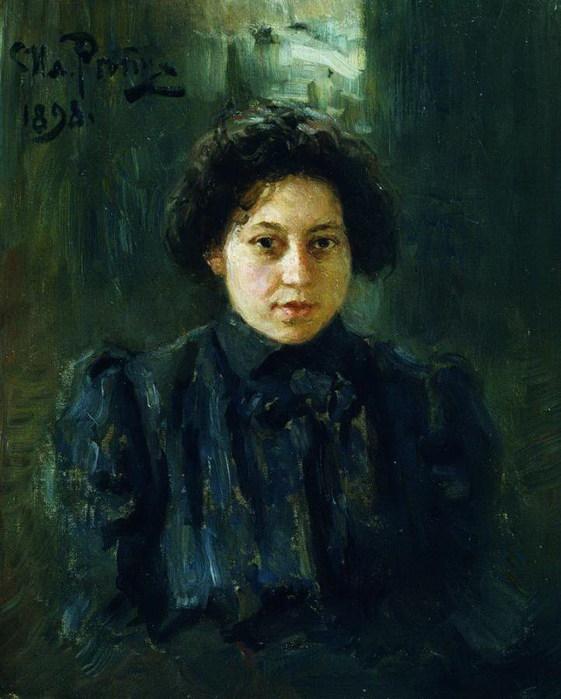 Портрет Репиной, дочери художника. 1898 (561x700, 89Kb)