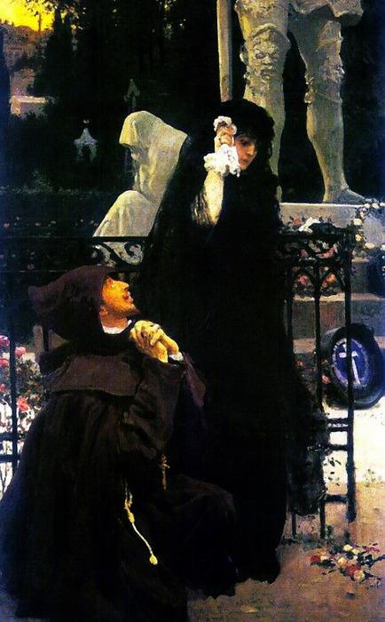 Дон Жуан и донна Анна. 1887-1896 (434x700, 102Kb)
