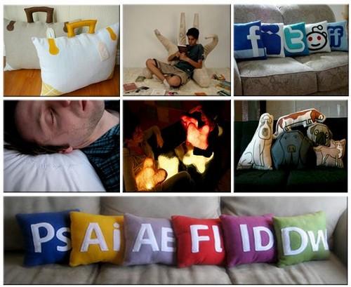 Креативные подушки и одеяла 34 (500x409, 67Kb)
