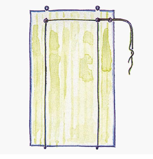Изготовить вКак сделать рулонные шторы своими руками