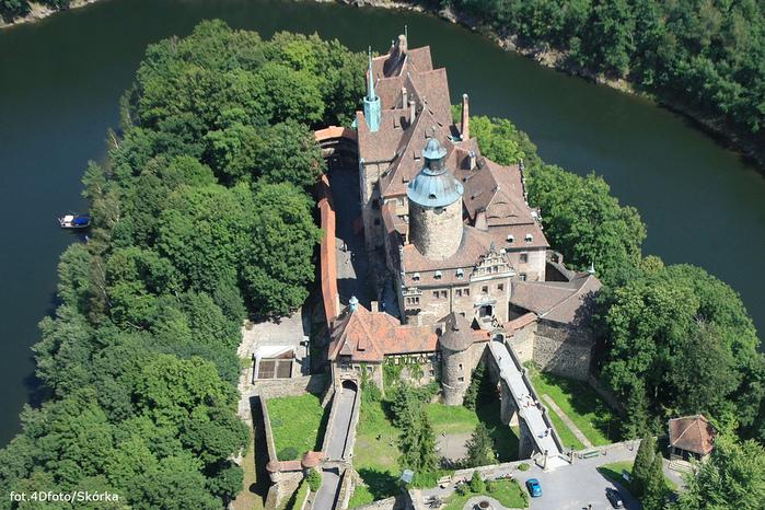 Замок Чоха (Czocha). Польша, Силезия 44453