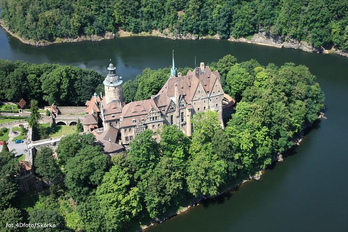 Замок Чоха (Czocha). Польша, Силезия 29983