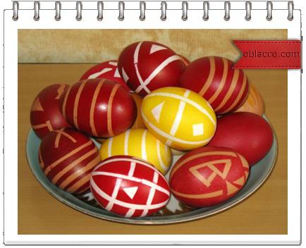 Традиция красить пасхальные яйца и народные приметы