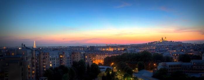 Лучшие фото Парижа в формате HDR 2 (700x274, 37Kb)