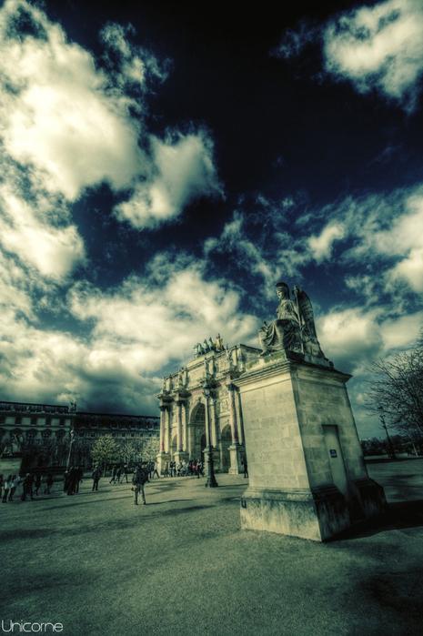 Лучшие фото Парижа в формате HDR 6 (465x700, 358Kb)