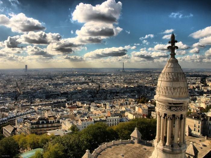 Лучшие фото Парижа в формате HDR 16 (700x525, 126Kb)