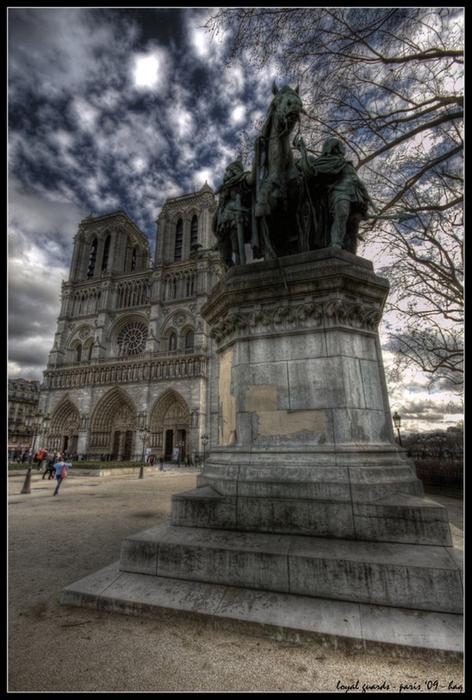 Лучшие фото Парижа в формате HDR 43 (472x700, 333Kb)