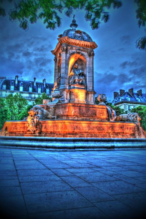 Лучшие фото Парижа в формате HDR 50 (467x700, 447Kb)