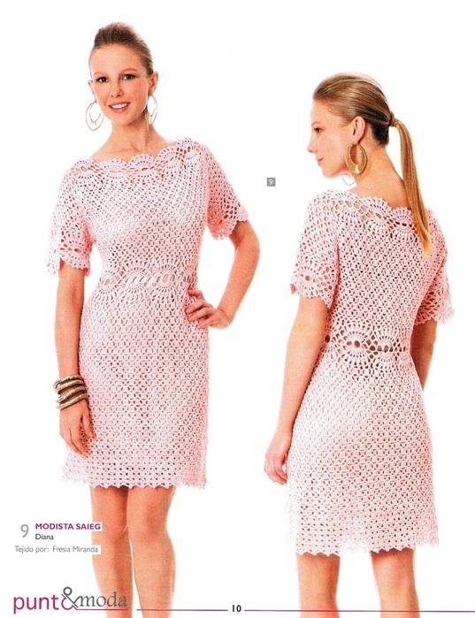 Платье крючком от Karen