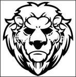 Превью Lion stencil 2 (403x408, 45Kb)