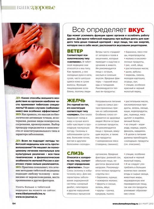Диета из журнала здоровье